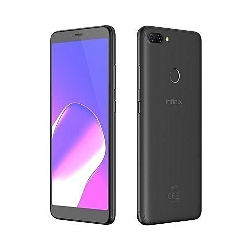 Infinix HOT 6 – 2GB RAM – 16GB – 6″ – 13+8MP- FingerPrint – 4000mAh – 3G LTE – Face ID – Black