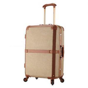 Big Leather Suitcase